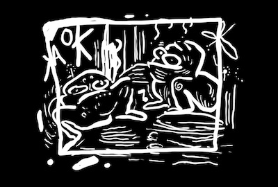 dessin grenouilles
